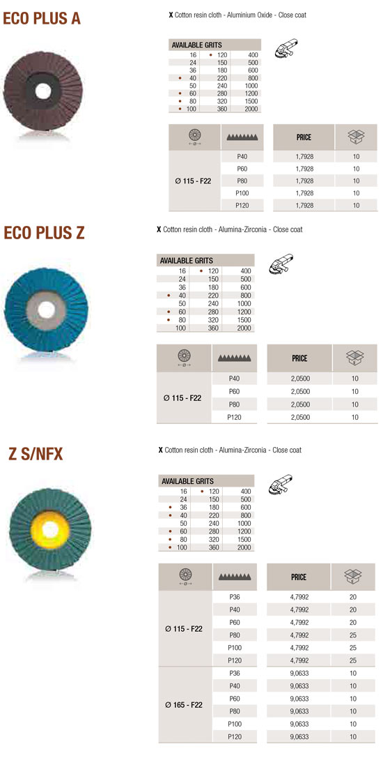 Abrasives - Flap Discs 1