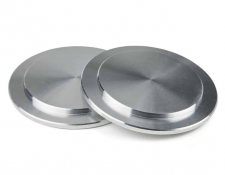 Pair of Metal Reduction Flanges for RF