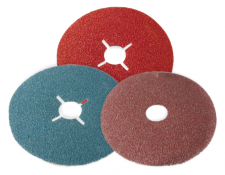 Fibre Discs and Back-Up Pads